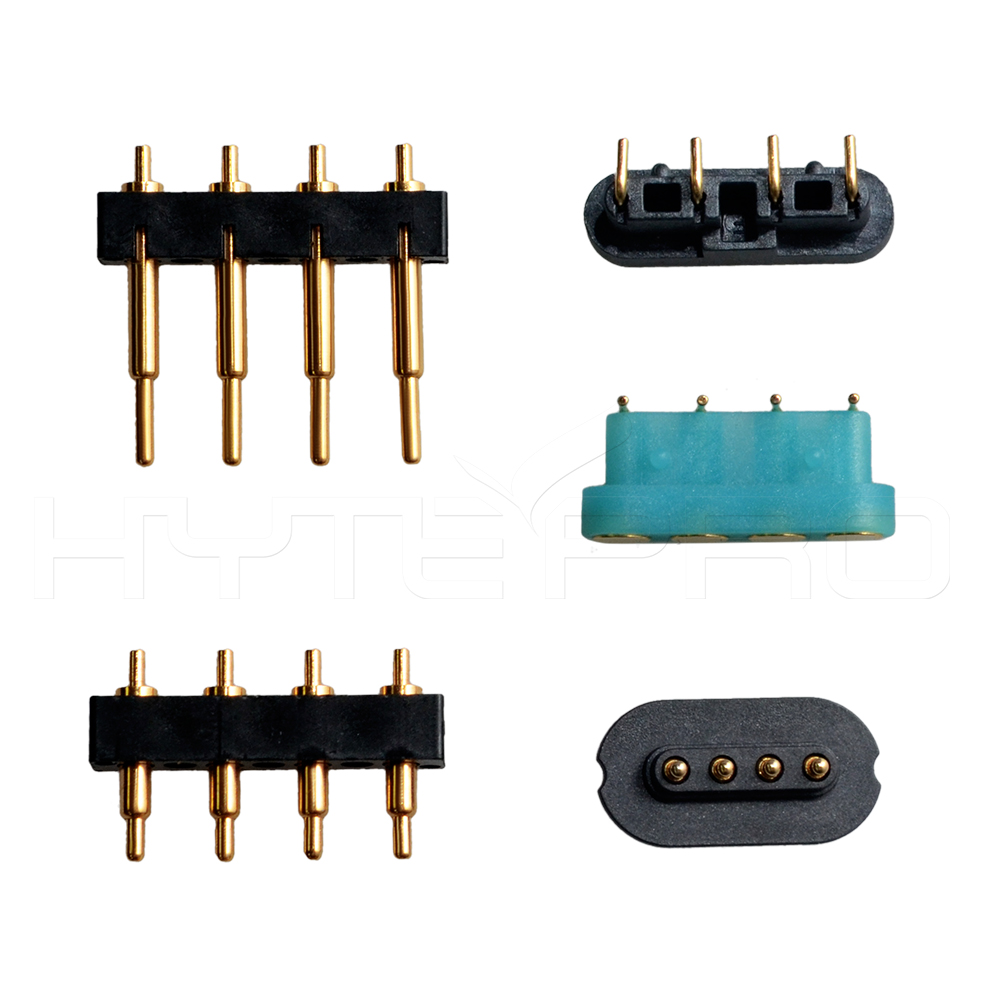 What are the characteristics of high-current pogo pin charging pins?
